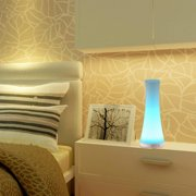 Bedside touch lamps led bedside lamp towel shape touch sensor control dimmable rgb color changing rechargeable bluetooth smart table aloadofball Image collections
