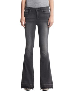 Scoop High Rise Flare Jean Gray Wash Women's