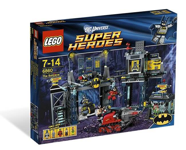 NEW! NO MINIFIG LEGO Superheroes DC Universe Batman 6860 Batcycle ONLY!