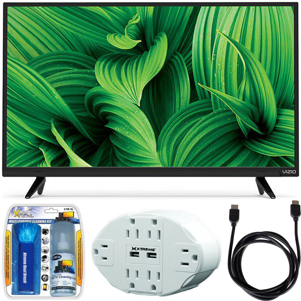 "Vizio D39hn-E0 D-Series 39"" Class Full-Array LED TV w/ Essential Accessory Bundle"