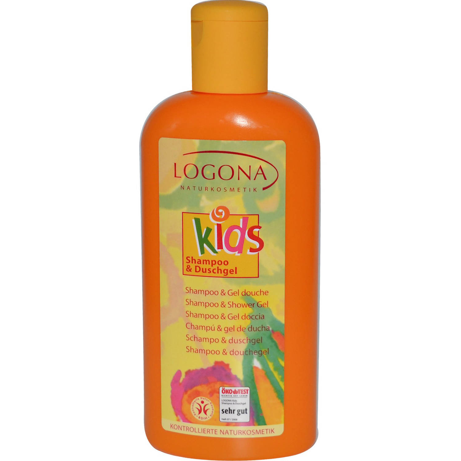 Logona Natural Body Care Baby & Kids Products, Kids Shampoo & Shower Gel, 6.8 oz