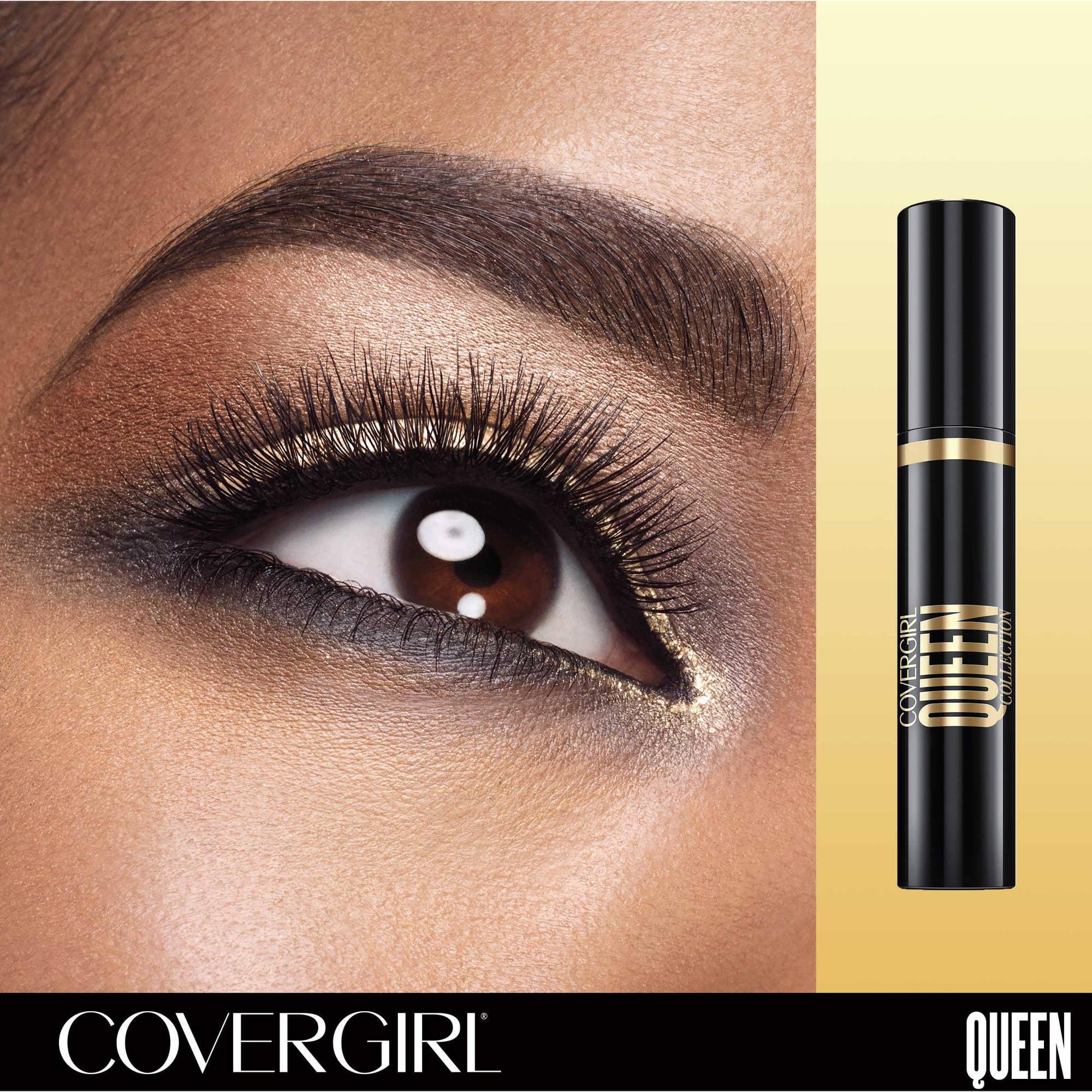 8d5562e530c COVERGIRL Queen Collection False Lash Drama Mascara, Very Black, .4 fl oz -  Walmart.com