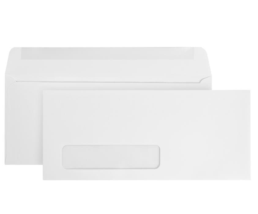 Blue Summit Supplies #10 Gummed Envelopes, Single Window, 500 box by Blue Summit Supplies