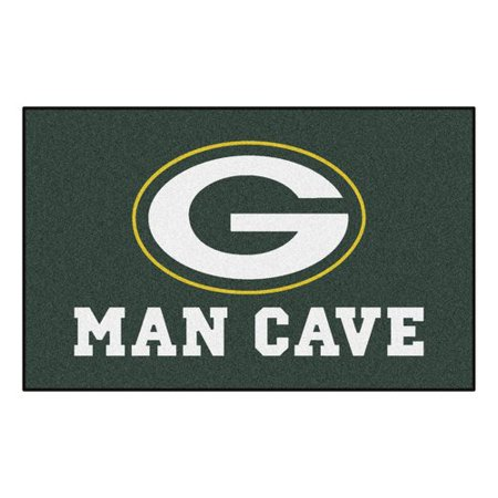 NFL - Green Bay Packers Man Cave UltiMat 5'x8' Rug (Green Bay Packers Nfl Rug)