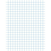 School Smart Graph Paper, 8-1/2 x 11 Inches, 1/4 Inch Rule, White, Pack of 500