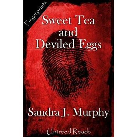 Sweet Tea and Deviled Eggs - - Easy Halloween Deviled Eggs