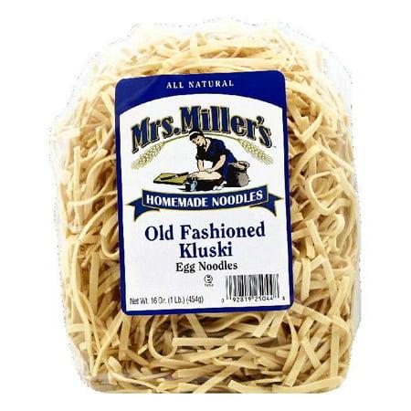 Kluski Noodles (Mrs Millers Kluski Old Fashioned Egg Noodles, 16 OZ (Pack of)