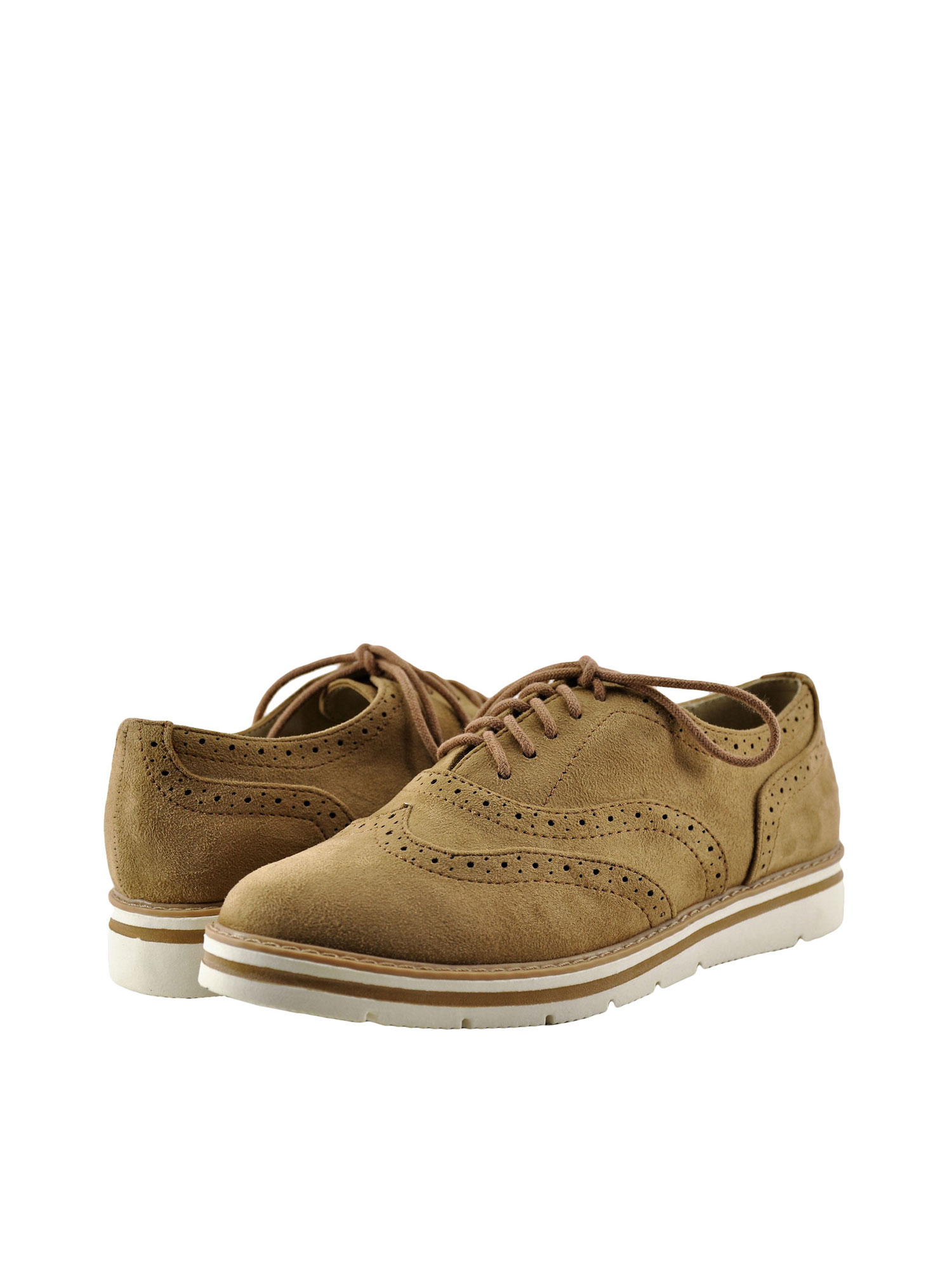 Lace Up Closed Toe Oxford - Walmart