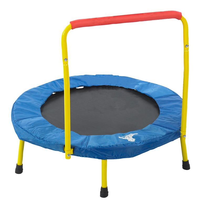 THE ORIGINAL TOY CO FOLD AND GO TRAMPOLINE