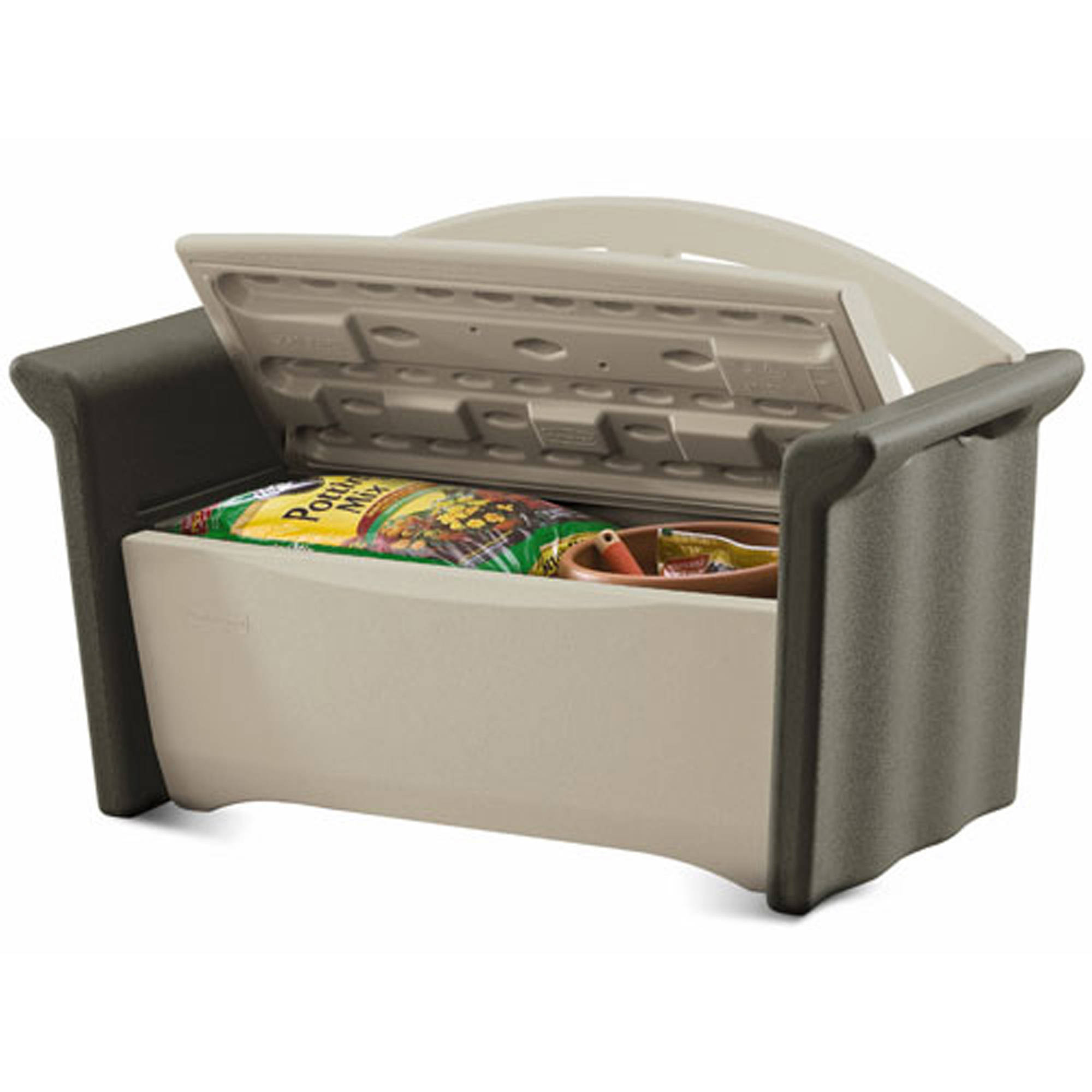 Rubbermaid Patio Storage Bench   Walmart.com