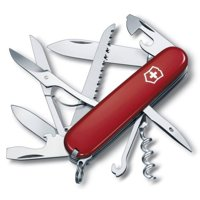Victorinox Swiss Army Huntsman 15 Function Red Pocket Knife 1.3713-033-X1