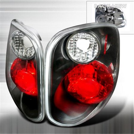 Spec-D Tuning LT-F150F01JM-KS Altezza Tail Lights for 01 to 03 Ford F150, Black - 6 x 15 x 23