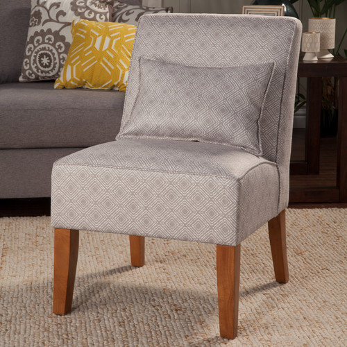 Kinfine USA Slipper Accent Chair - Gray
