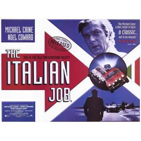 The Italian Job (1969) 11x17 Movie - Movie Trading Company Jobs
