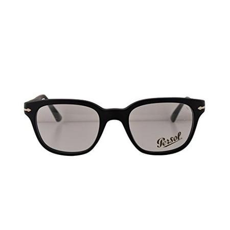 Eyeglasses Black Frame - Persol PO3093V Eyeglasses 48-20-145 Black 9000 PO3093 (FRAME ONLY)