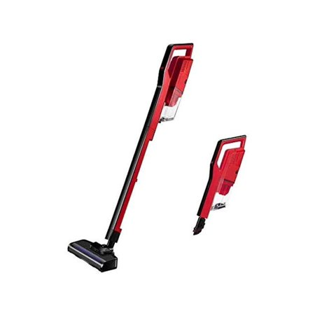 Miss Lacy Upright Cordless Vacuum Cleaner 6.5Kpa Strong Suction, Lightweight Handheld Vacuum (Red)