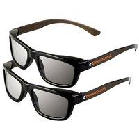 ED 2 Pack CINEMA 3D GLASSES For LG 3D TVs – Adult Sized Passive Circular Polarized 3D Glasses, Best Price and Best Value for Adult 3D Glasses!.., By eDimensional