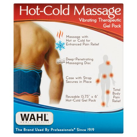 Wahl Hot Cold Massage Vibrating Therapeutic Gel Pack  1 0 Ct