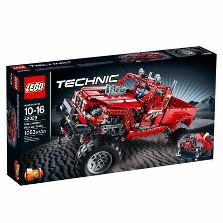 LEGO Technic Customized Pick Up Truck (Pick Up Technics)