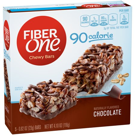 Fiber One  90 Calorie Bar Chocolate 5   0 82 Oz Bars