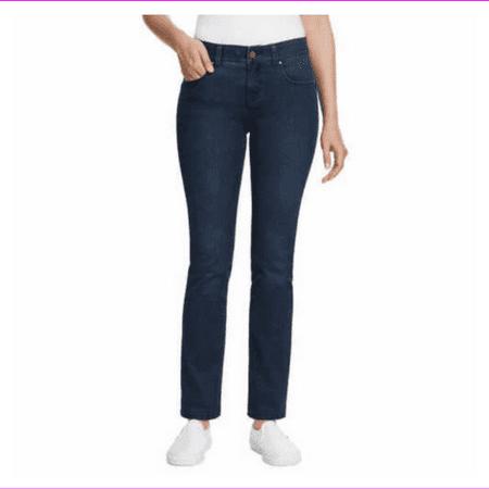 Jones New York Women's Slim Fit pant 12/Denim Jones New York Elastic