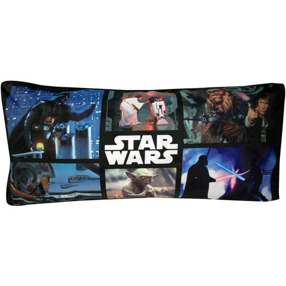 Star Wars Classic Trilogy Body Pillow - Walmart.com