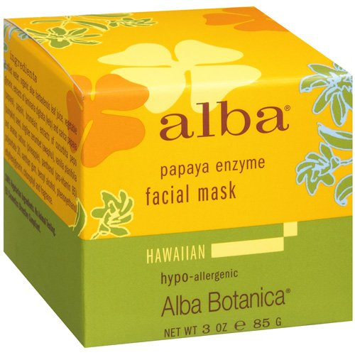 Alba Botanica Hawaiian Papaya Enzyme Facial Mask, 3 fl oz