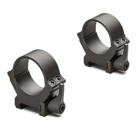 Leupold QRW2 Quick-Release Weaver-Style Rings 30mm Tube Diameter, High Height, Gloss Black