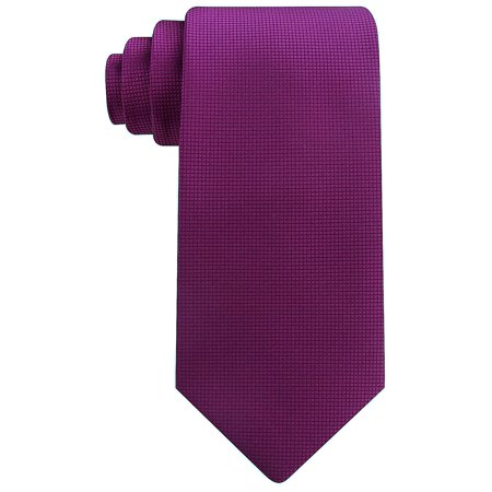 Scott Allan Mens Micro Dot Solid Color Necktie