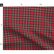 Highland Fling Tartan Traditional Common Fabric Printed by Spoonflower BTY