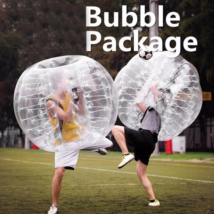 Human Knocker Bubble Soccer Football Transparent PVC Inflatable Bumper Ball by MUSIC