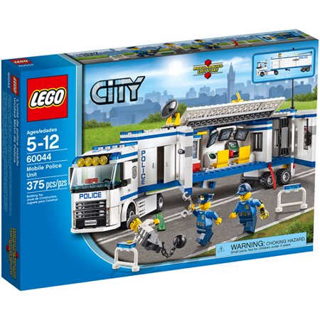 LEGO City Police Mobile Police Unit Building - Police Building Set