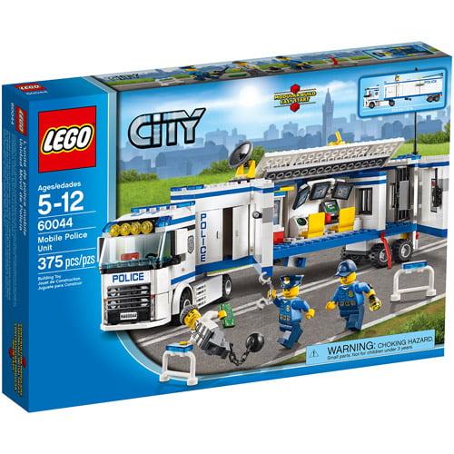 Lego City Police Mobile Police Unit Building Set Walmart Com Walmart Com
