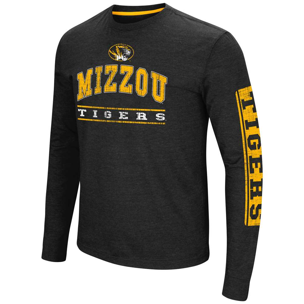Missouri Tigers Colosseum Sky Box L/S T-Shirt - Arch Print