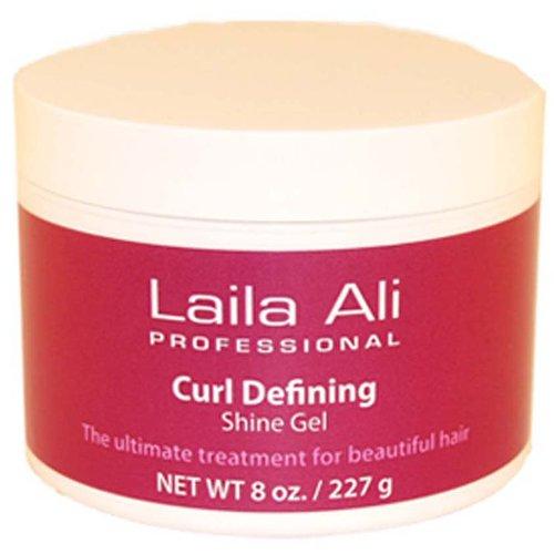 Laila Ali Professional Curl Defining Shine Gel, 8 oz