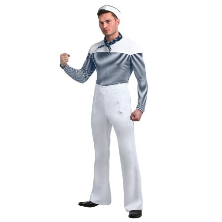 Vintage Sailor Plus Size Costume for Men](Men Sailor)