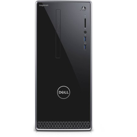 Dell Inspiron 3650 I3650 3111Slv Desktop Pc With Intel Core I3 6100 Processor  6Gb Memory  1Tb Hard Drive And Windows 10 Home  Monitor Not Included