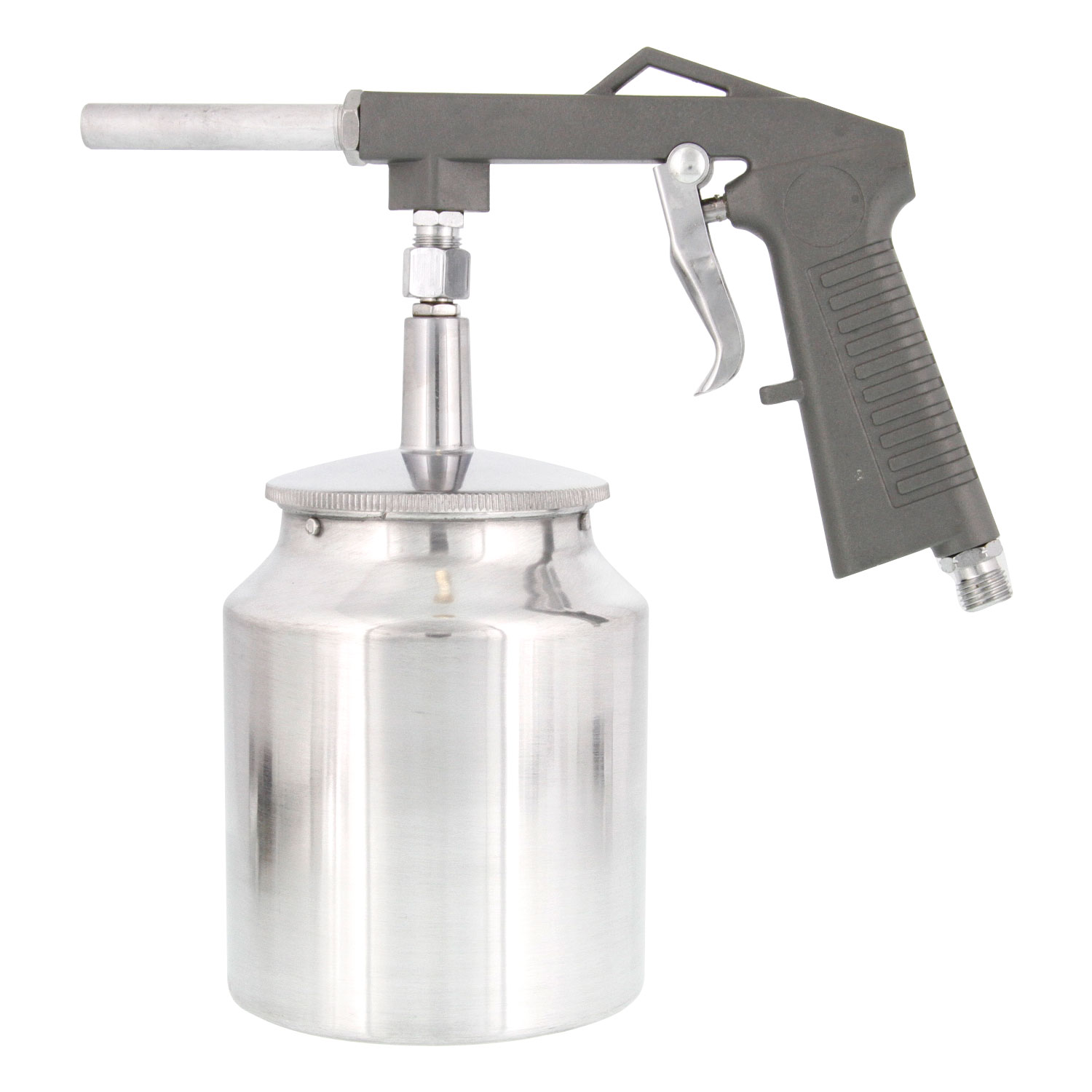 undercoating spray gun w/ cup auto truck bed liner coating chip