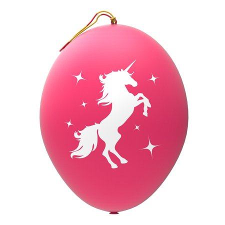 12 Pink Unicorn Punch Balloons