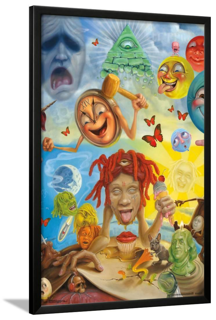 Trippie Redd Hip Hop Rap Star 02 Poster 24x36 30in K182