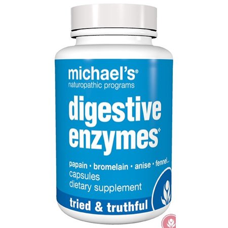 Les enzymes digestives Michael's Naturopathic 90 Caps