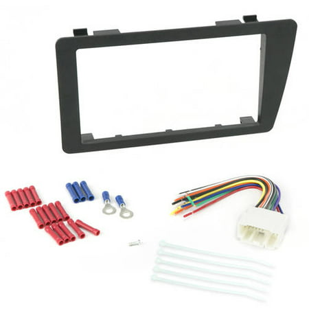 INSTALL CENTRIC ICHA6BN Honda Civic 2001-05 Double DIN Complete Car Stereo Installation Kit