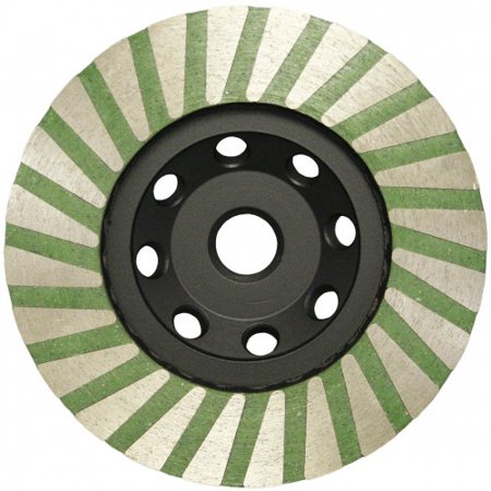 - 4 Inch Slayer Resin Filled Turbo Cup Wheel - Fine