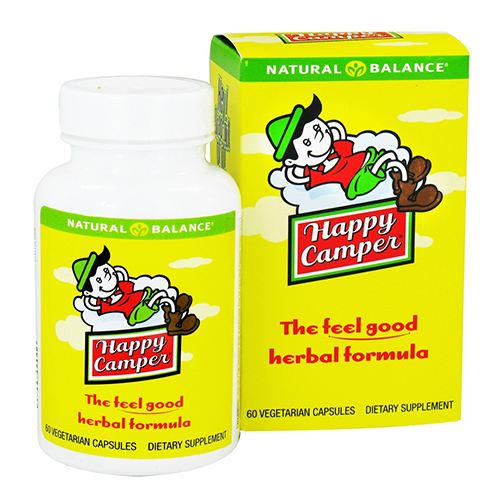 Natural Balance Happy Camper Vegetarian Capsules, 60 Ea
