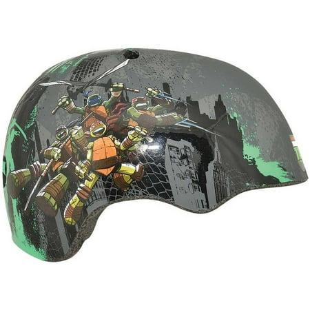 Bell Sports Teenage Mutant Ninja Turtles Patches Child Bike Helmet, Gray (Gray N-com Helmet)