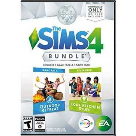 The Sims 4 Bundle Pack  Outdoor Retreat And Cool Kitchen Stuff Pack   Pc