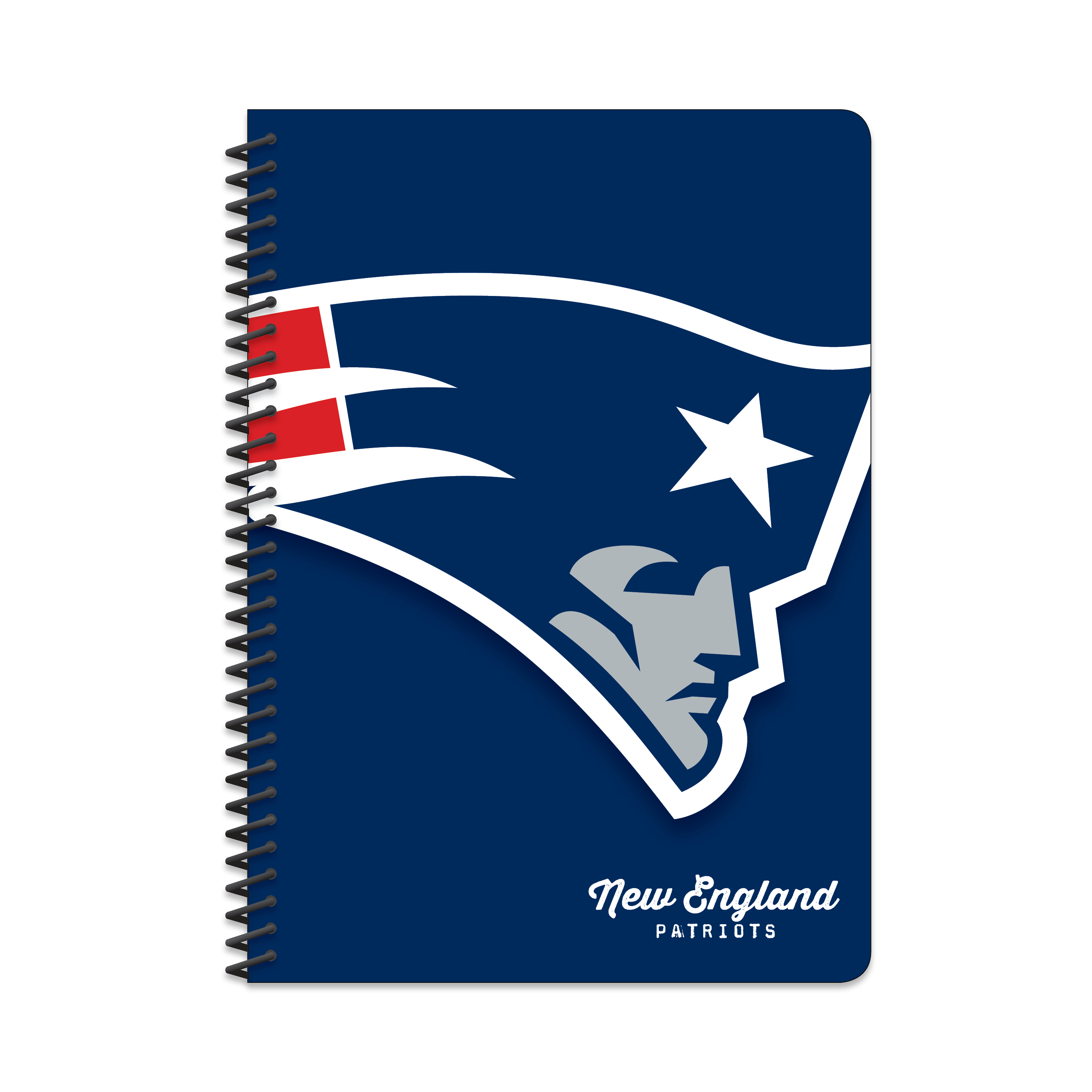 NEW ENGLAND PATRIOTS CLASSIC 5X7 NOTEBOOK