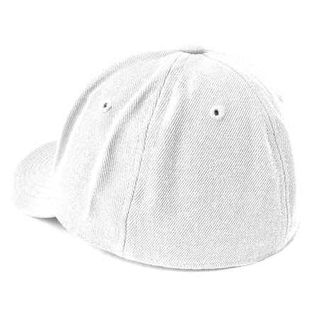 American Needle Fitted Blank Wool Blend Hat - White - image 2 de 2