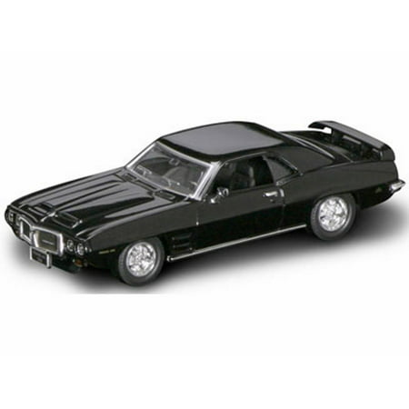 1969 Pontiac Firebird Trans Am, Black - Road Signature 94238 - 1/43 Scale Diecast Model Toy Car 1969 Trans Am Convertible
