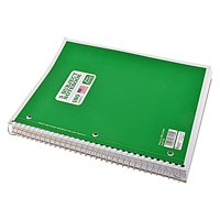 """Norcom 5 Subject 180 Sheets Notebook, Wide Ruled, 10.5"""" x 8"""""""